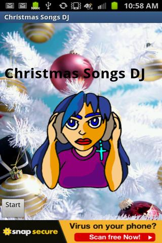 Christmas Songs DJ - screenshot