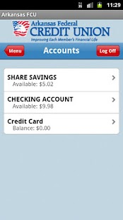 Arkansas FCU Mobile Banking - screenshot thumbnail