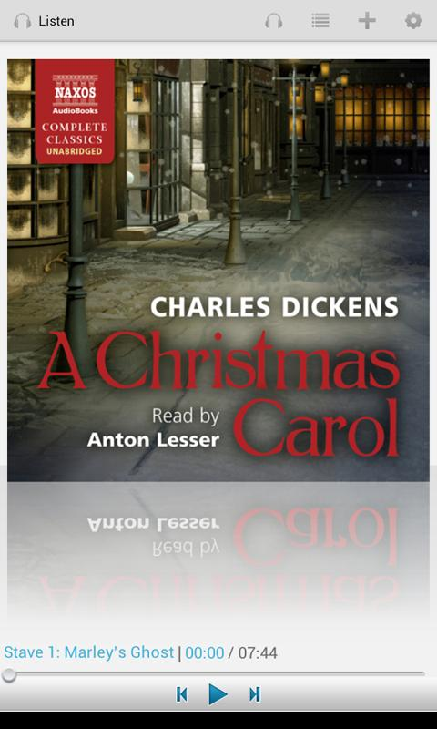 A Christmas Carol- screenshot