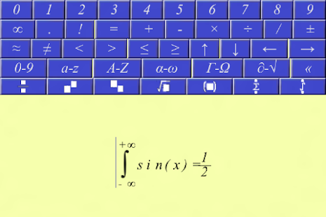 Equation writer.- screenshot thumbnail
