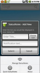 StatusNotes (Status Notes)- screenshot thumbnail