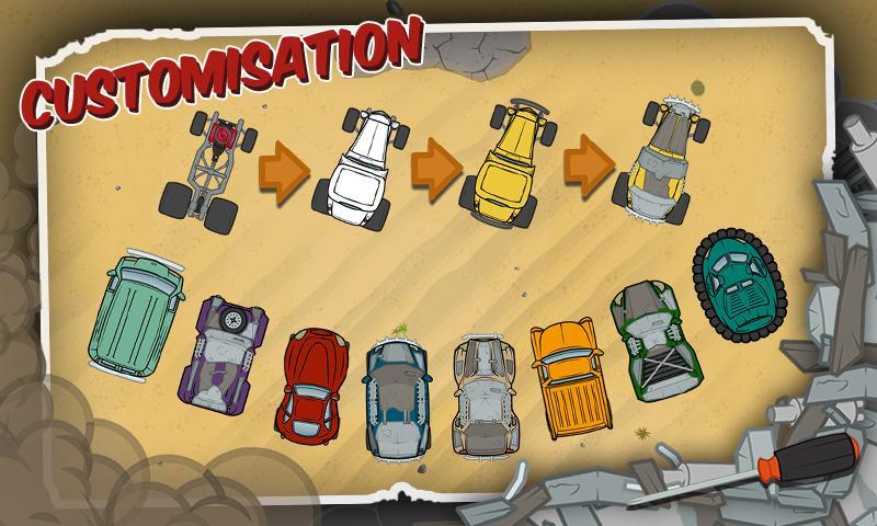 Wreck'em Racing- screenshot
