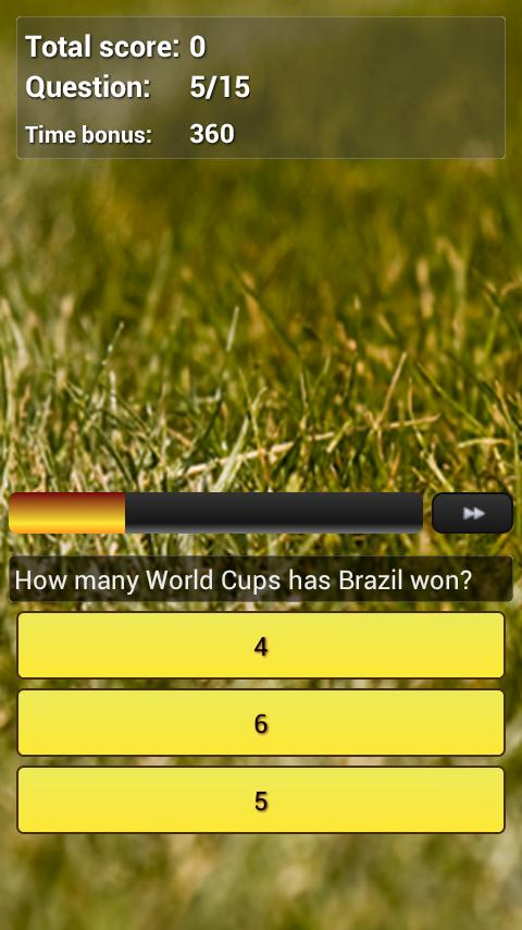 Football World Cup Quiz - screenshot