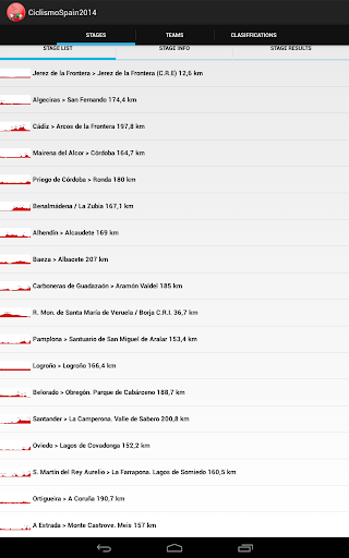 【免費運動App】Ciclismo Spain 2014-APP點子