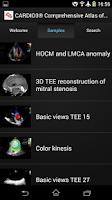 Screenshot of CARDIO3® ECHO - Lite
