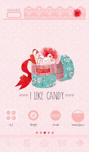 I like candy 도돌런처테마