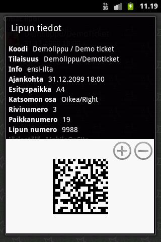 NetTicket- screenshot