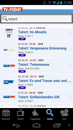 TV Today - TV Programm 1.5.2 screenshot 334451