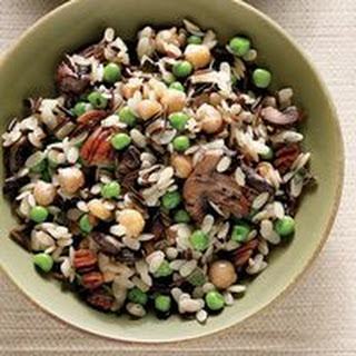 Wild Rice Pilaf with Mushrooms and Pecans