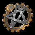 Steampunk TarotBot logo