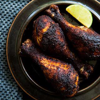 Chicken Drumsticks, Ethiopian Style