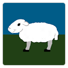 pixel sheep (free) icon