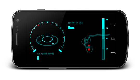 Navier HUD Navigation Free - screenshot thumbnail