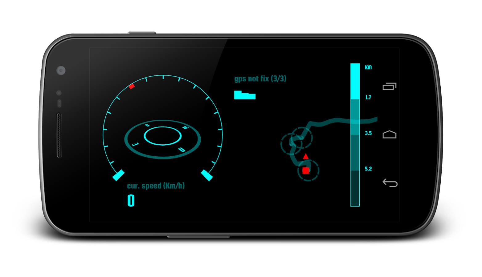 Navier HUD Navigation Free- screenshot