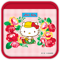 Hello Kitty RosePretty  Theme icon