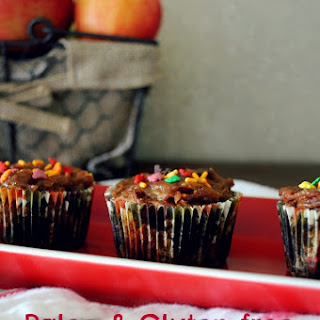 Paleo, Gluten-free Caramel Apple Cupcakes
