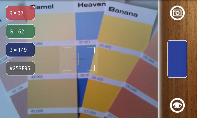 ColorMeter camera color picker- screenshot