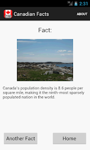 Canadian Facts- screenshot thumbnail