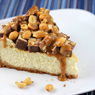 Snickers Cheesecake Recipes.