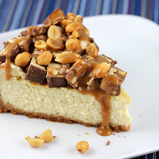 No Bake Snickers Cheesecake Recipes.