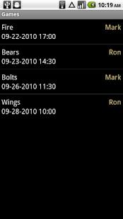 Hockey Stats- screenshot thumbnail
