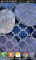 Screenshot of Abubu tiles live wallpaper
