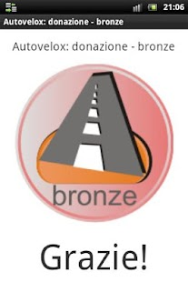 Speedcam: donation bronze - screenshot thumbnail