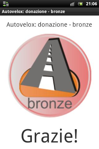 Speedcam: donation bronze- screenshot