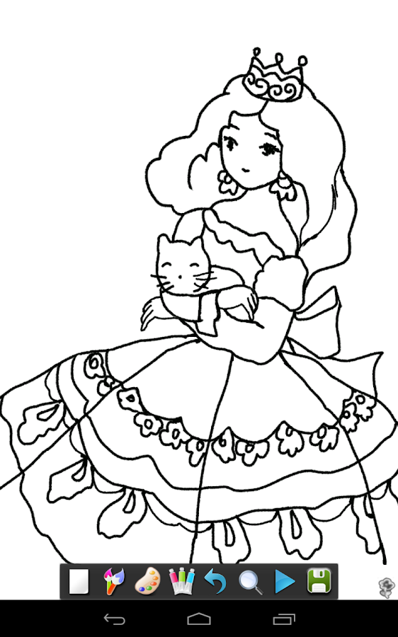 coloring magic color draw screenshot - Coulering Book