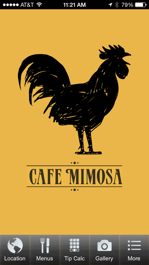 Cafe Mimosa- screenshot