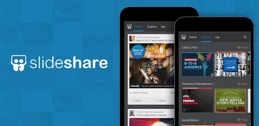linkedin slideshare apps on google play