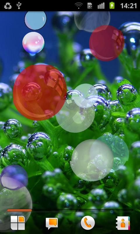 Bubble Live Wallpaper - screenshot