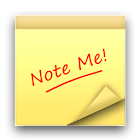 Note Me ! - Notepad icon