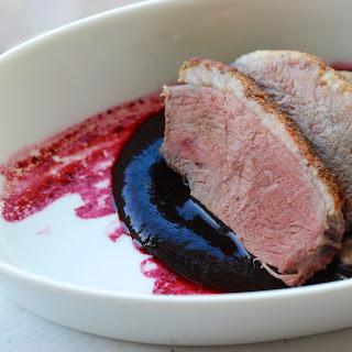 Duck Breasts with Concord Sauce Recipe