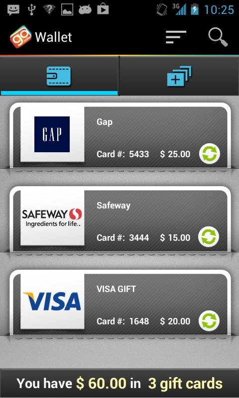 GoWallet Mobile- screenshot
