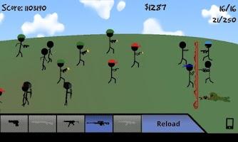 Screenshot of Stick Defense Advanced Beta