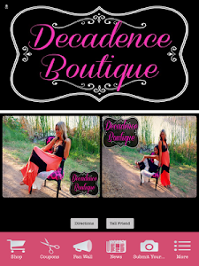 Decadence Boutique screenshot 0
