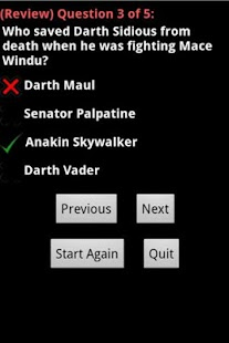 Star Wars Master Quiz Free - screenshot thumbnail