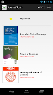 Journal Scan Oncology- screenshot thumbnail