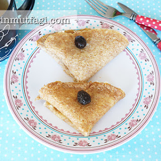 Wheat Bran Crepes Recipe