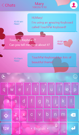 TouchPal Love Heartbeat Theme » Download APK » 6 2 24 2019