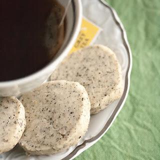 Earl Grey Icebox Cookies.