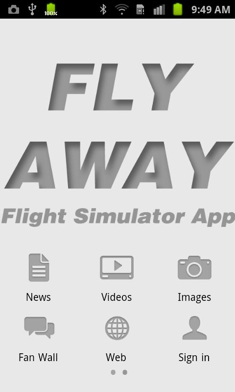 Fly Away Simulation- screenshot