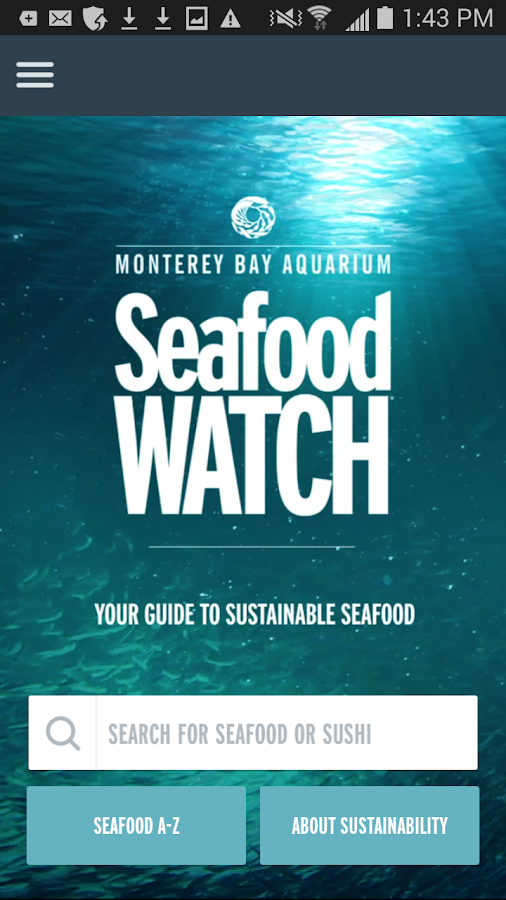Seafood Watch - screenshot
