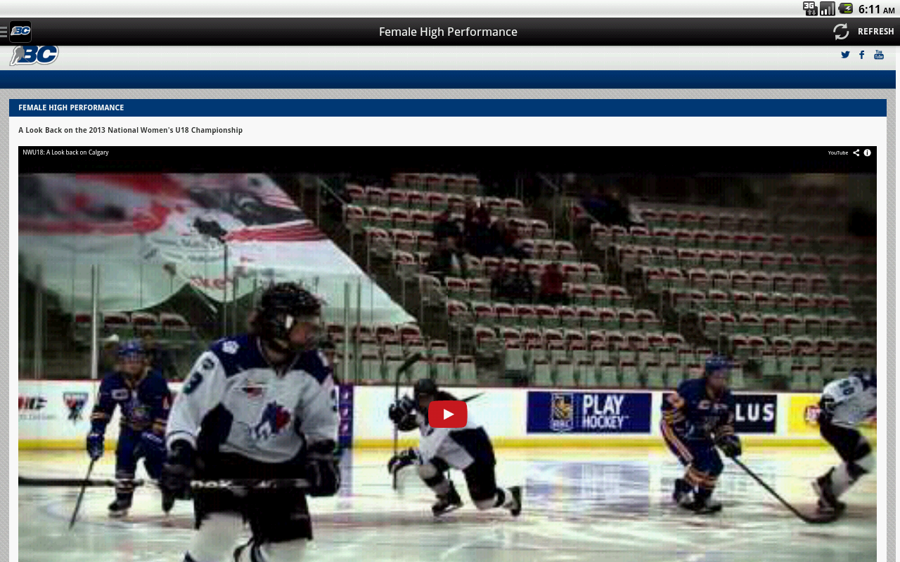 BC Hockey- screenshot