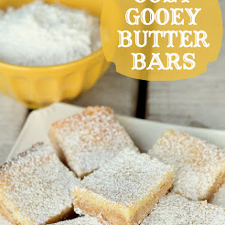 Gooey Butter Bars.