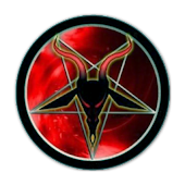 Satan Analog Clock Widget