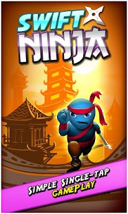 Swift Ninja - Jumping Game- screenshot thumbnail