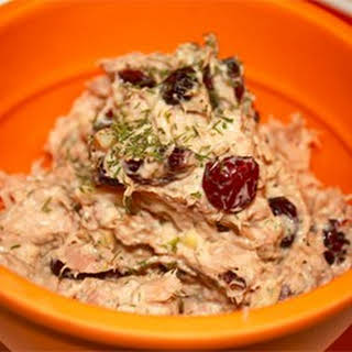 Tuna Salad with Cranberries.