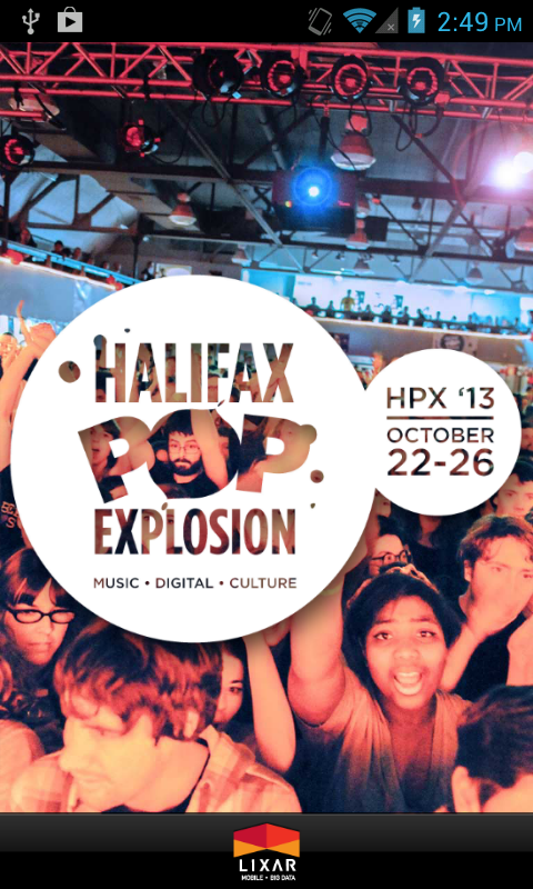 Halifax Pop Explosion 2013 - screenshot